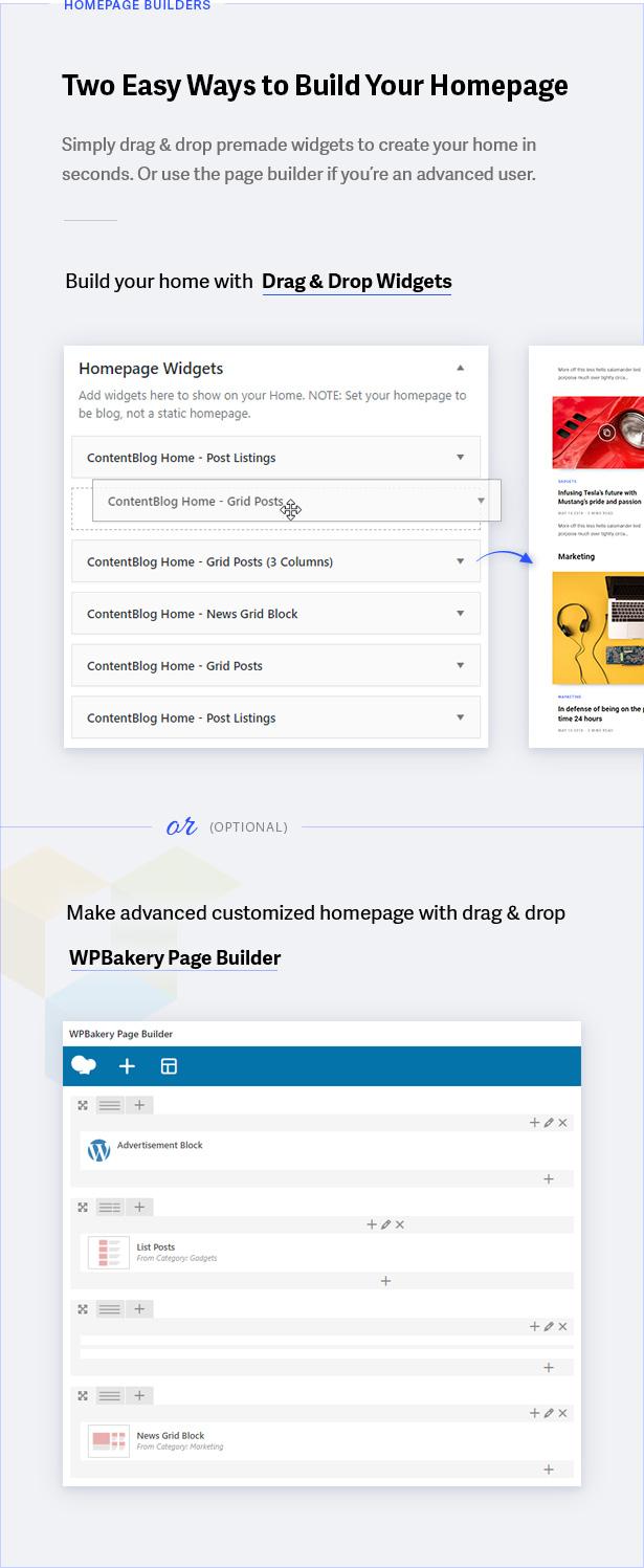Homepage Builders