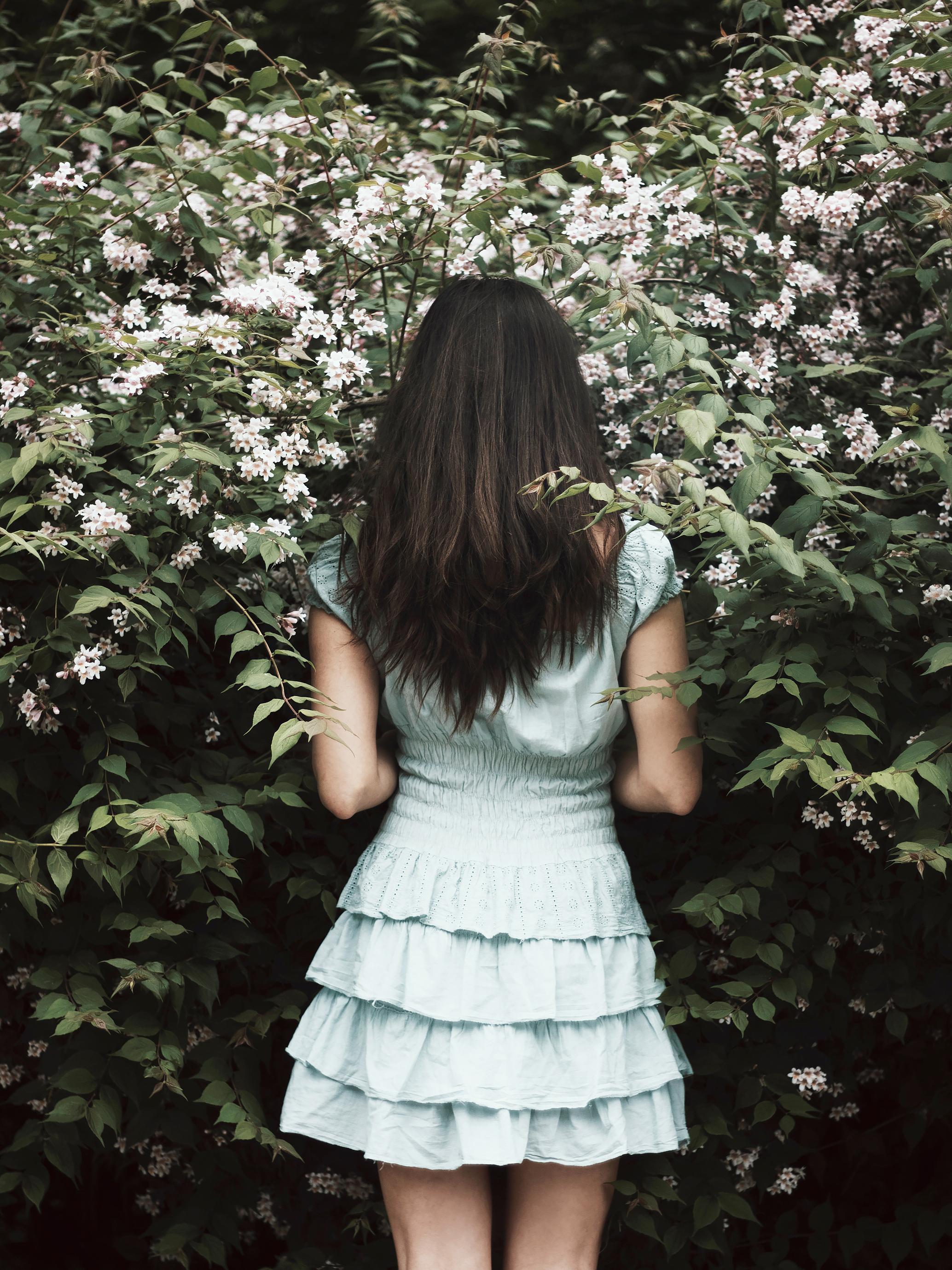inside the garden blooming flowers - The Girls In The Garden