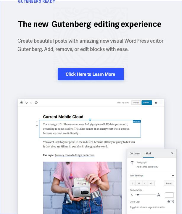 Gutenberg Styles