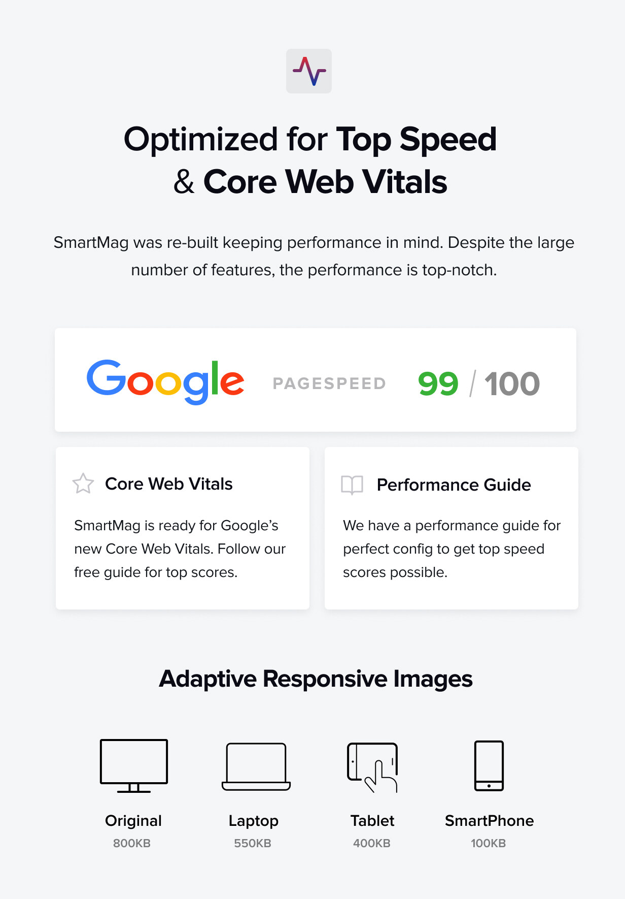 Top Speed & Performance and Google AMP